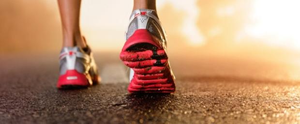 Nach Verletzung wieder laufen